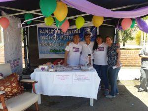 Festejando junto a nuestras enfermeras; Gallegos, Miriam y Muñoz, Monica